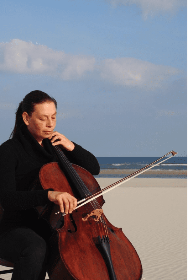 Judith Oost cello Muziek op locatie